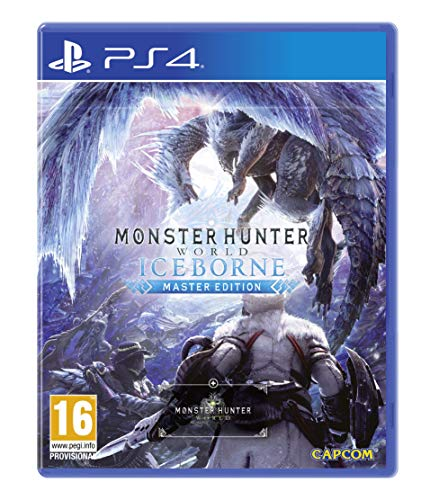 Monster Hunter World Iceborne Master Edition Steelbook (PS4) Best Price and Cheapest