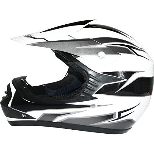 49-50cm Brand:Leopard Red Graphic S LEO-X16 Children Kids Motocross Full Face Motorbike Helmet - Off Road ECE-2205 Approved