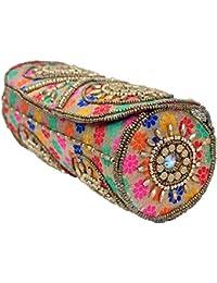 Craft Trade Handmade Multicolor Kundan Bangle Box