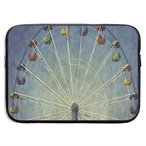 Notizbuch Tasche Giant Vertical Revolving Ferris Wheel Laptop Sleeve Case Bag Cover for 13-15 Inch Notebook Computer -