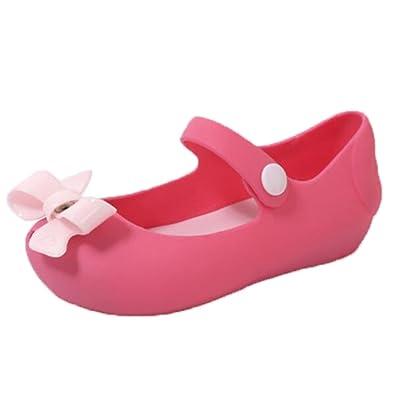 Ohmais Enfant bébé fille Flattie sandale été plat Flops Sandales imperméable  en PVC: Amazon.fr: Chaussures et Sacs