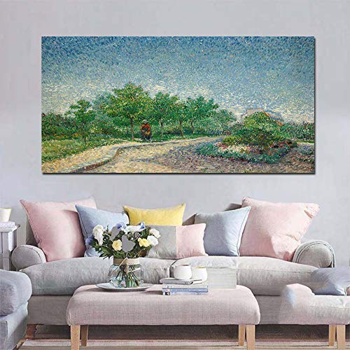 RTCKF HD Stampa su Tela Soggiorno Pittura Decorativa Pittura a Olio murale Pittura murale Van Gogh Funziona Riproduzione Senza Cornice C1 30cm * 60cm