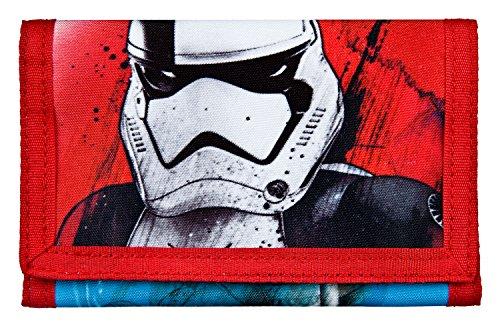Undercover SWNH7010 Geldbörse, Star Wars Episode 8, ca. 9 x 12 x 2 cm