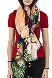 Photo de Desigual foulards 74w9ef4 rectangle tropicla fly orange par Desigual