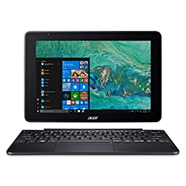 Acer One 10 S1003-19ZA Notebook 2 in 1 con Processore Intel Atom Quad Core x5-Z8350, Ram da 2GB DDR3, 64 GB eMMC, Display 10.1″ IPS HD, Windows 10 Home, Nero