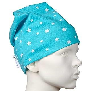 JNY Colourful Kids - Chapeau - À Étoiles - Bébé (garçon) 0 à 24 mois Turquoise Turquoise