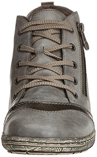 Remonte D3870, Baskets Hautes Femme Gris (Negro/altsilber/asphalt)