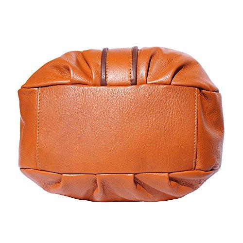 Borsa a mano 8621 Cuoio-marrone