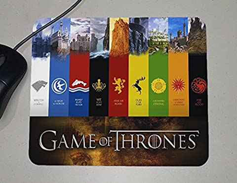 Game of Thrones Faction Custom Name Banner – TV Show – Novelty Gift Mouse Pad