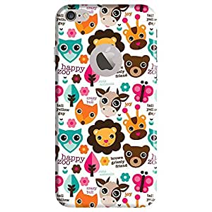 Bhishoom Designer Printed Back Case Cover for Apple iPhone 7 (Logo View Window Case) (Cartoon :: Texture And Pattern :: Girl :: Girlish :: Abstract)