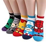 Marvel DC Comics Socken (5 Paar) with INTYPE Pouch CK