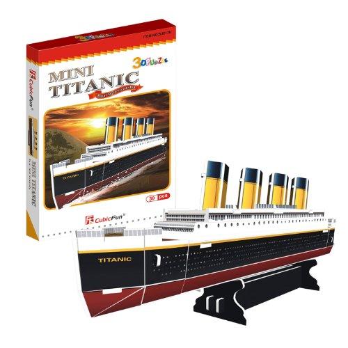Cubicfun Titanic, Multi Color