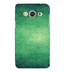 For Samsung Galaxy J3 Pro :: Samsung Galaxy J3 (2017) Green Pattern, Green, Lovely Pattern, Amazing Pattern, Printed Designer Back Case Cover By CHAPLOOS