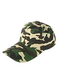 9e090da587364 Leisial Hombre Sombrero Gorro Camuflaje Selva Beisbol Ejército Caza Visera  Sombrero Sol al Aire Libre Deporte