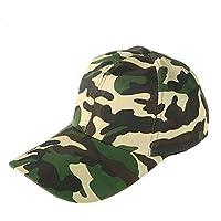 Leisial Hombre Sombrero Gorro Camuflaje Selva Beisbol Ejército Caza Visera Sombrero  Sol al Aire Libre Deporte db305e1b8f7