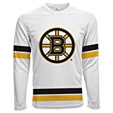 Level Wear Scrimmage LS NHL Boston Bruins Fan Maillot