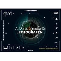 FRANZIS Adventskalender für Fotografen 2018   24 Überraschungen für Fotografen   Ab 14 Jahren
