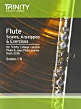 Flute & Jazz Flute Scales & Arpeggios from 2015: Grades 1 - 8