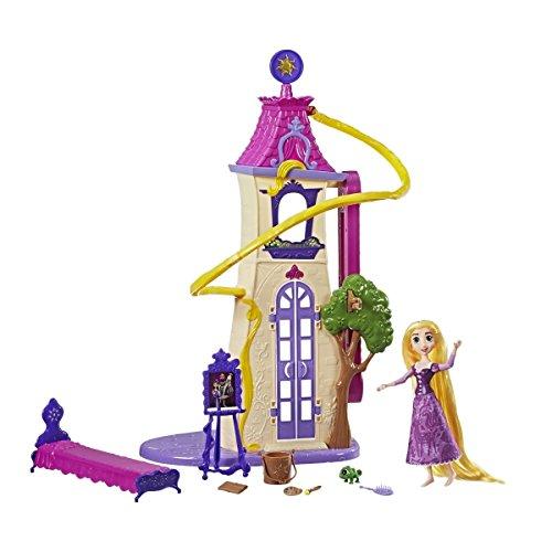 el - Die Serie C1753EU4 - Rapunzels Haartastischer Abenteuer-Turm, Spielset (Tangled Kostüm Für Kinder)