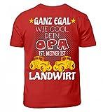 Hochwertiges Kinder T-Shirt - Landwirt Opa Kinder-Shirt · Landwirtschaft · Traktor · Opa · Kind · Enkel · Lustiger Spruch · Pullover · Hoodie · T-Shirt · Geschenk