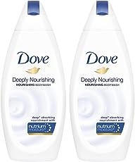 Dove Deeply Nourishing Body Wash, 190ml (Pack of 2)