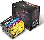 Cartuchos de Tinta bbunit 603XL compatibles con la Impresora Epson XP-3100 XP-4100 XP-2100 XP-2105 XP-3105 XP-