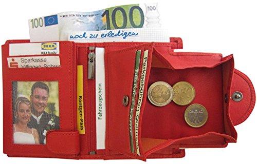 Josephine Osthoff Handtaschen-Manufaktur , Portafogli  Donna Rosso (rosso)