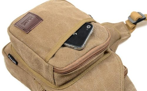 MEILISHO® Canvas Bag Unisex Schultertasche & Umhängetasche Perfect Für Travel Army Green