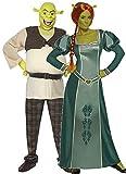 Fancy Me Par Hombre y Mujer DreamWorks Shrek y Fiona Halloween película Comic de Figuras Disfraz Verkleidung Outfit