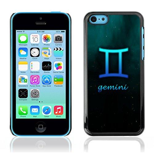 Graphic4You Aquarius Wassermann Horoskop Tierkreis Zeichen Design Harte Hülle Case Tasche Schutzhülle für Apple iPhone 5C Gemini