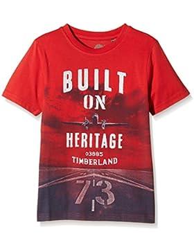 Timberland Jungen T-Shirt Tee-shirt Manches Courtes Garcon