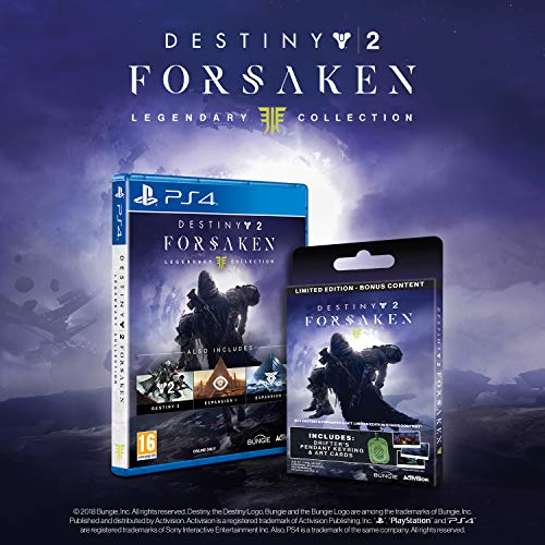 b35d74b26f7 Destiny 2  The Forsaken Legendary Collection Limited Edition with Bonus  Digital Content + Collectors Items