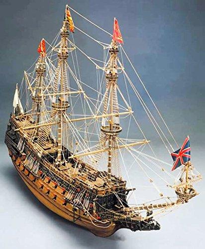Sergal Herrscher der Meere hölzerne Schiff Modellbau Bausatz 1/78 Skala von Mantua Modelle