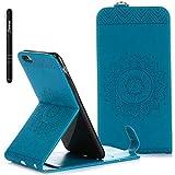 Slynmax Mandala Flip Tasche Schutzhülle für Apple iPhone 6s Plus/iPhone 6 Plus 5,5