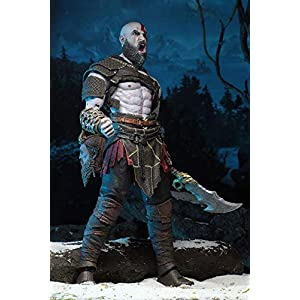 Neca – God of War, Set mit 2 Figuren, Kratos & Atreus, mehrfarbig (NECA49326)