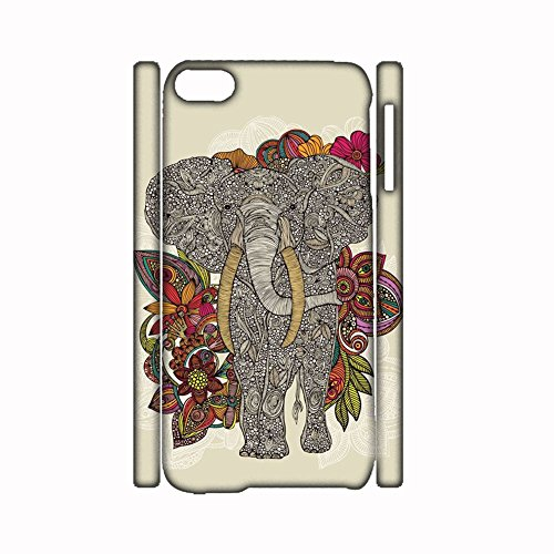 Generic For Apple Ipod Touch 6 Have With Colorful Elephant Drawing 1 Plastic Creative Cases For Boys (Lego Ipod Touch Case)