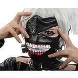 Halloween Cosplay Prop Kaneki Ken máscara peluca horror Anime Cosplay disfraces accesorios