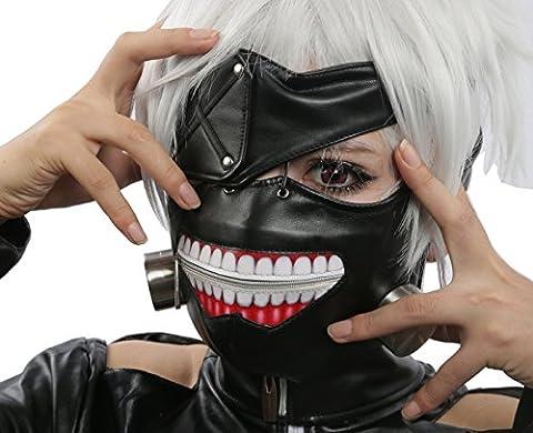Halloween Cosplay Prop Kaneki Ken Masque Mask Horreur Anime Costume Accessories