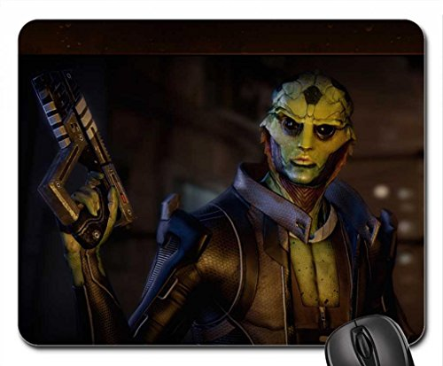 "Price comparison product image Mass Effect 2 - ""Thane"" (Widescreen) Mouse Pad, Mousepad (10.2 x 8.3 x 0.12 inches)"