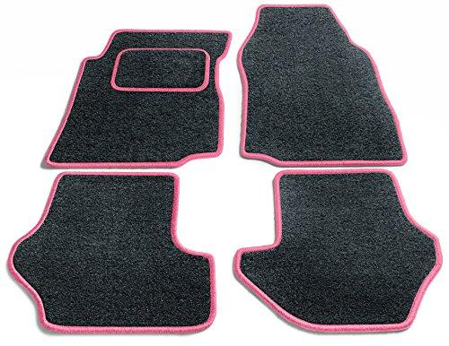 Preisvergleich Produktbild JediMats 60011-Pre-Pink-Anth Prestige Maßgeschneiderte Fußmatte für Ihr Auto, Anthrazit