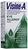 Visine -A Eye Allergy Relief, Antihistamine & Redness Reliever Eye Drops (Quantity 1)
