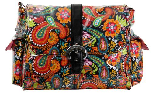 kalencom-laminated-buckle-changing-bag-mango-paisley-by-kalencom