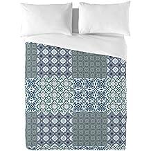 BCN Brand Patch Work BCN Brand - Juego de funda nórdica para cama de 150 cm