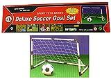 Fußballtor mit Netz + Ball + Pumpe - Deluxe Soccer Goal Set - 91,5 x 61 x 48cm
