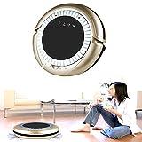 [Best Seller] Jiuhuazi Y017 ad alta aspirazione robotica casa e la pulizia della cucina Robo con tecnologia Drop-sensing e filtro di stile HEPA per la pelliccia di animali e allergeni, progettato per