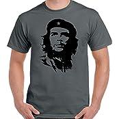 Che Guevara Face Silhouette–Herren Kult T-Shirt