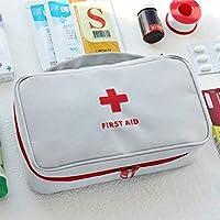 Grapdopk Portable Medical Bag Aufbewahrungspack Notfall Erste Hilfe Leere Tasche (Farbe: grau) preisvergleich bei billige-tabletten.eu