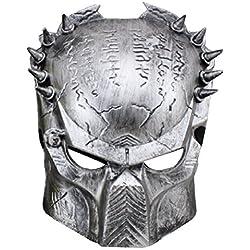 Inception Pro Infinite Máscara - Carnaval - Halloween - Alien Vs Predator - Color Plata - Hombre - Mujer