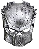 Inception Pro Infinite Maske - Karneval - Halloween - Alien Vs Predator - Silberfarbe - Mann - Frau