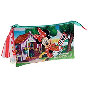Disney Minnie Strawberry Neceser de Viaje, 1.32 litros, Color Rosa